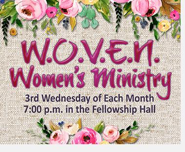W.O.V.E.N Women's Ministry